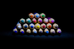 Pilha de cores bonitas Imagens de Stock