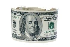 Pilha de dólares Foto de Stock Royalty Free