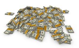 Pilha de dinheiro Foto de Stock Royalty Free