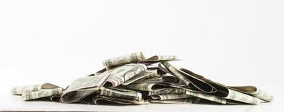 Pilha de dinheiro Fotografia de Stock
