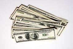 Pilha de dinheiro imagens de stock