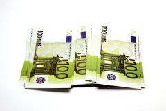 Pilha de dinheiro fotografia de stock royalty free