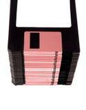 Pilha de disco flexível Fotografia de Stock