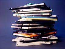 Pilha de discos flexíveis Fotografia de Stock Royalty Free
