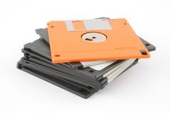 Pilha de discos flexíveis Imagem de Stock Royalty Free