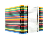 Pilha de discos flexíveis do computador Fotos de Stock