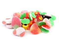 Pilha de doces coloridos fotografia de stock royalty free