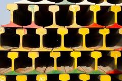 Pilha de estrada de ferro Foto de Stock Royalty Free