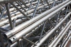 Pilha de fardos do metal imagens de stock