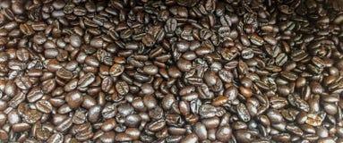 Pilha de feijões de café Foto de Stock
