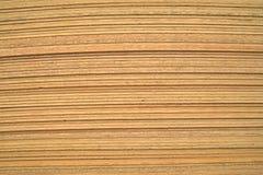 Pilha de folhas da madeira compensada Fotografia de Stock