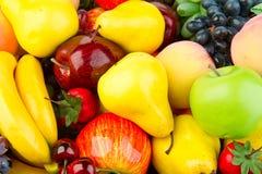 Pilha de frutas maduras Imagem de Stock