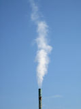 Pilha de fumo Foto de Stock