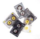 Pilha de gavetas de fita velhas Foto de Stock Royalty Free