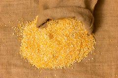 Pilha de grãos de milho Imagens de Stock