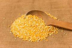 Pilha de grãos de milho Foto de Stock