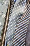 Pilha de gravatas Foto de Stock Royalty Free