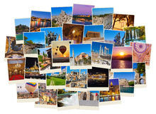 Pilha de imagens do curso de Turquia Foto de Stock
