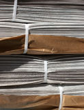 Pilha de jornais foto de stock royalty free