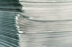 Pilha de jornais Imagens de Stock