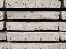 Pilha de laje da construção concreta Fotos de Stock
