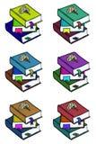 Pilha de livro Fotos de Stock