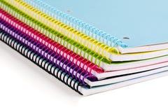 Pilha de livro de texto Imagem de Stock