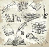 Pilha de livros Imagens de Stock
