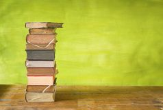 Pilha de livros Imagem de Stock