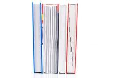 Pilha de livros fotografia de stock