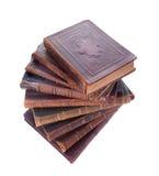 Pilha de livros antigos Foto de Stock Royalty Free
