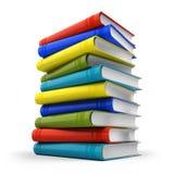 Pilha de livros coloridos Fotos de Stock