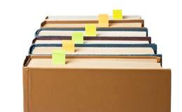 Pilha de livros com endereços da Internet Foto de Stock