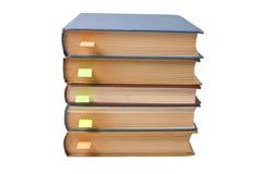 Pilha de livros com endereços da Internet Fotos de Stock Royalty Free