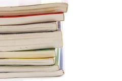 Pilha de livros isolada Imagem de Stock Royalty Free