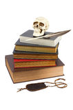 Pilha de livros velhos Fotografia de Stock Royalty Free