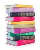 Pilha de livros velhos Imagens de Stock