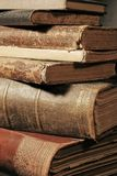 Pilha de livros velhos Imagem de Stock Royalty Free
