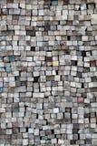 Pilha de madeira serrada velha Foto de Stock Royalty Free