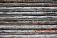Pilha de madeira velha da textura de Brown Imagem de Stock