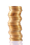 Pilha de moedas Foto de Stock Royalty Free