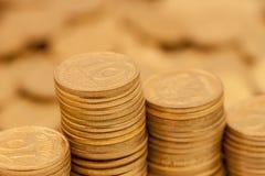 Pilha de moedas Imagens de Stock Royalty Free