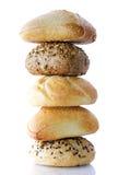 Pilha de pão Foto de Stock