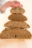 Pilha de pão Fotografia de Stock Royalty Free