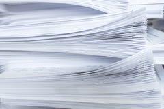 Pilha de papéis Imagens de Stock