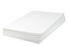 Pilha de papel Fotos de Stock