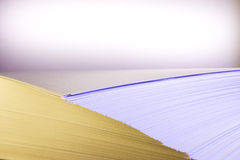 Pilha de papel Fotos de Stock