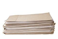 Pilha de papel de nota imagem de stock royalty free