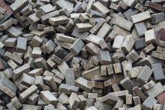 Pilha de pavimentar blocos imagem de stock royalty free