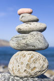 Pilha de pedra Fotografia de Stock Royalty Free